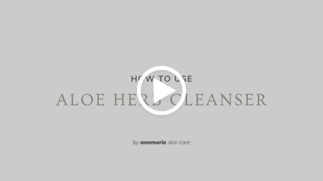 How to Use Aloe Herb Cleanser