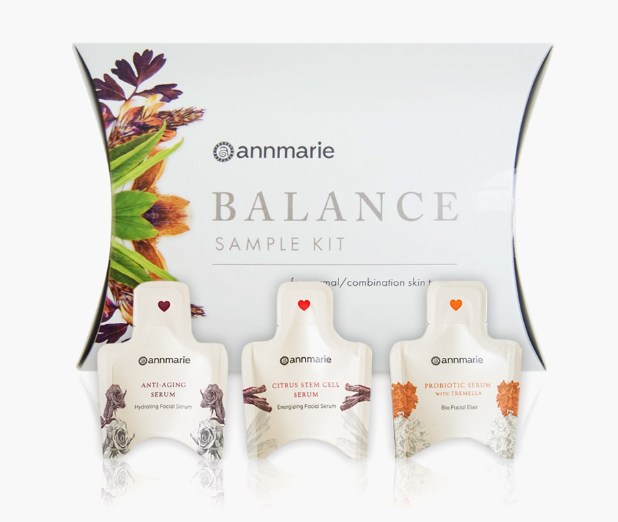 Annmarie Gianni Balance Sample Kit + 3 FREE Serum Samples
