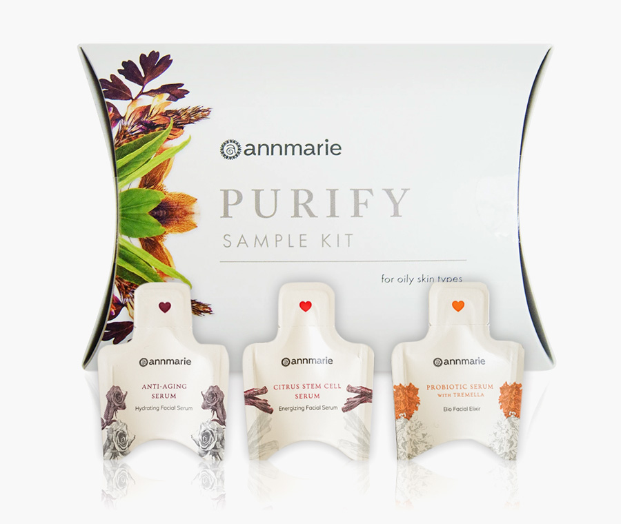 Annmarie Gianni Purify Sample Kit + 3 FREE Serum Samples