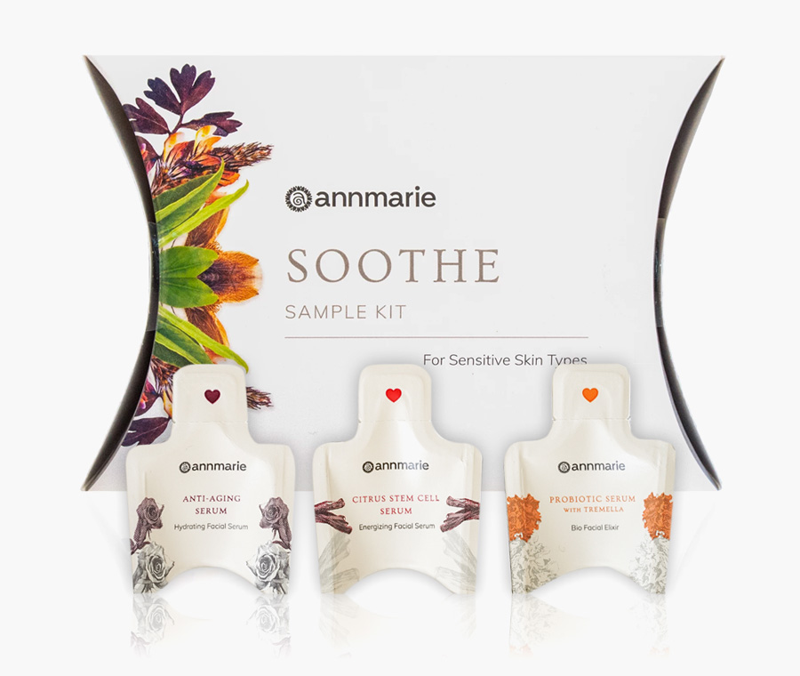 Annmarie Gianni Soothe Sample Kit + 3 FREE Serum Samples