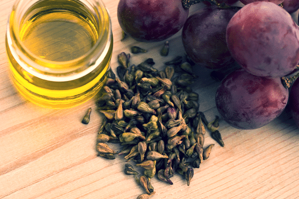 grape seed oil for the skin