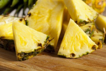 You can exfoliate with fruit enzymes such as pineapple!