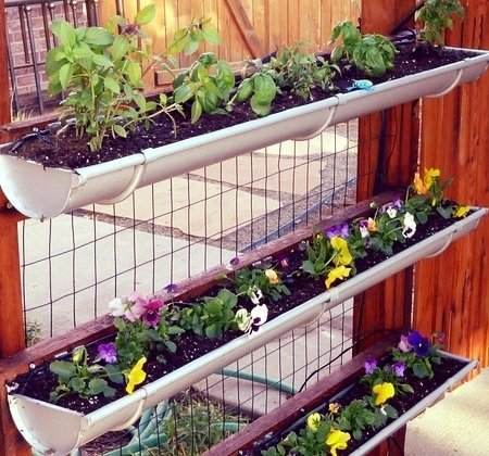 Vertical Gardening - Drip Irrigation
