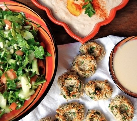 Vegetarin Lunch Recipes - Walnut Falafel