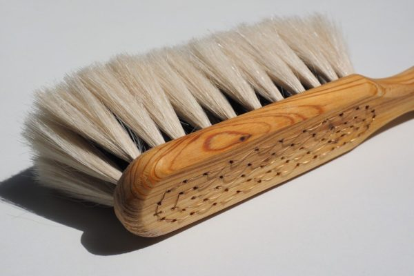 natural boars hair bristle brush