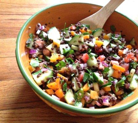 Lisa's Lentil Salad