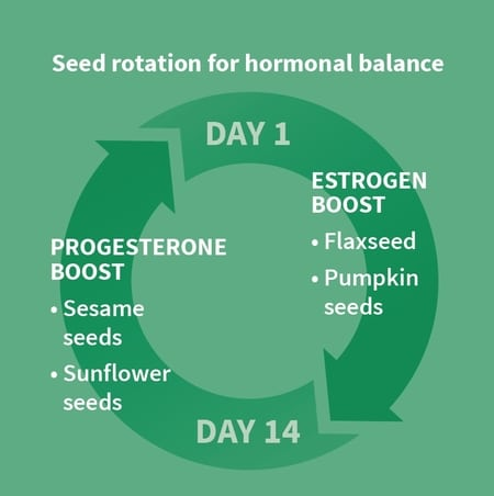 Seed Cycling Diet: How to Increase Progesterone & Regulate