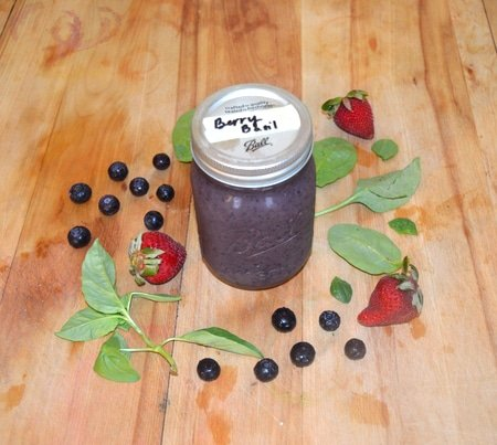Berry Basil - Herbal Smoothie Recipes
