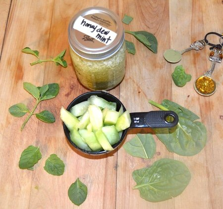 Herbal Smoothie Recipes - Honeydew Mint