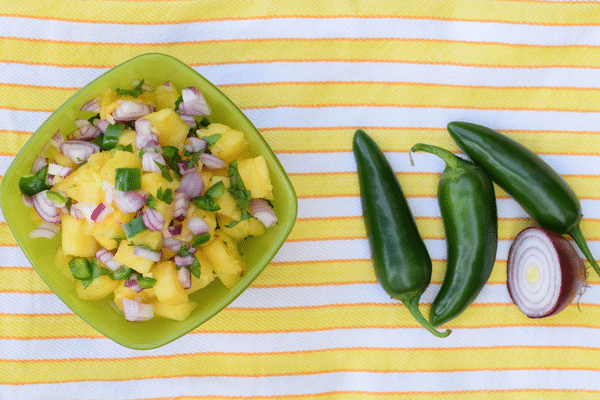 8 Snack Foods for Beautiful Skin (Plus, a Recipe for Spicy Pineapple Salsa)