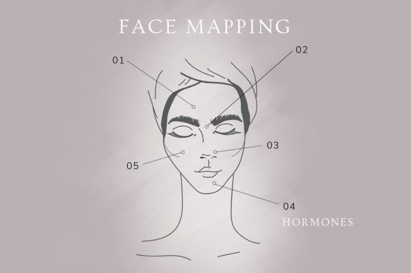 Face Mapping: Hormones and Your Chin 1