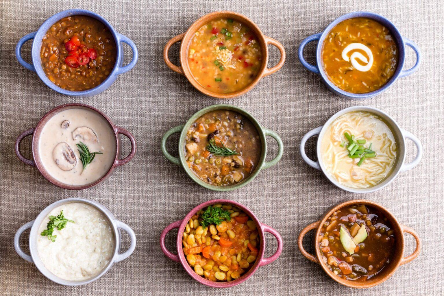 9 soups