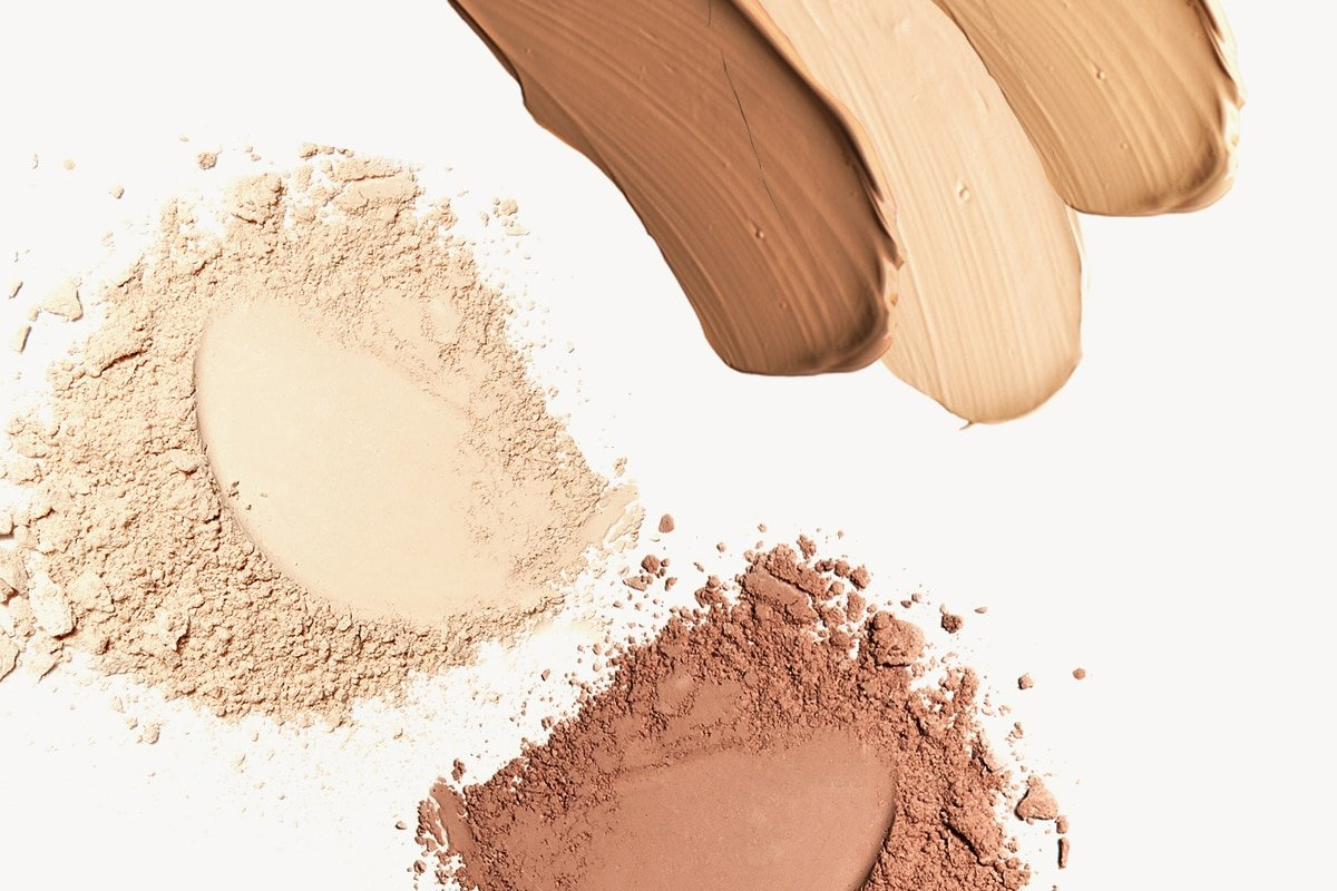 All Natural Make Foundation for Combination Skin