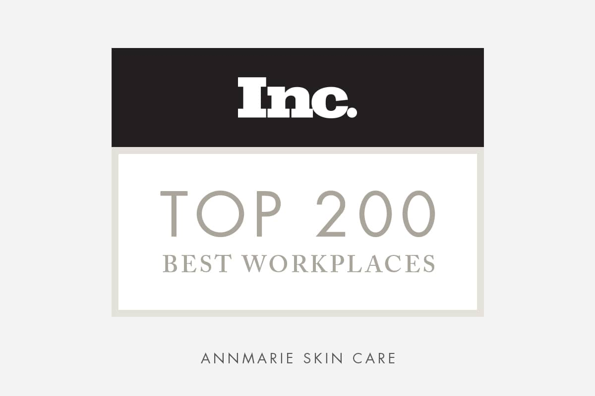 Inc. Says Annmarie Skin Care is One of the Best Places to Work