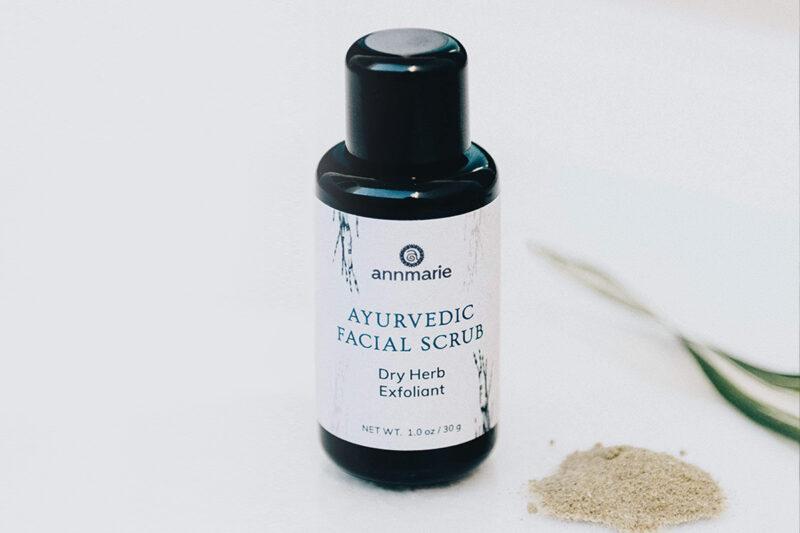 A Spotlight on Exfoliation: How to Use the Ayurvedic Facial Scrub