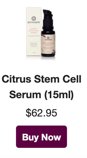 citrus stem cell serum