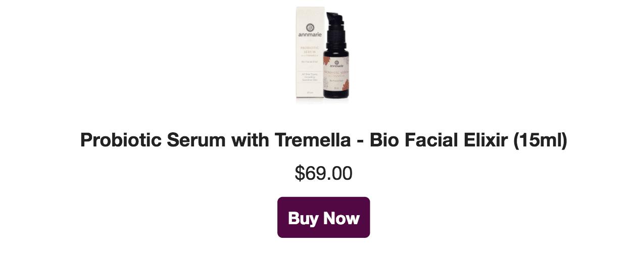 probiotic serum