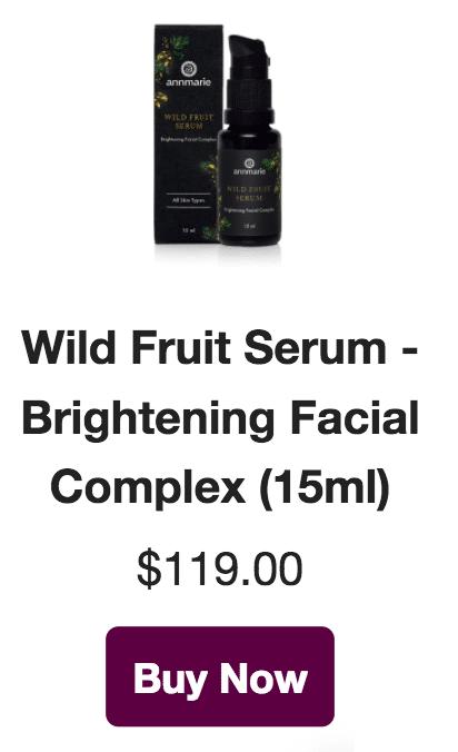 wild fruit serum