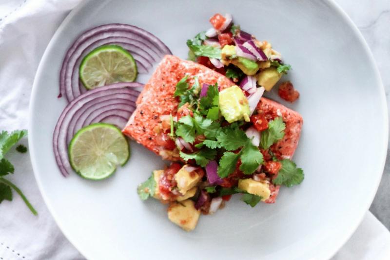 Eating Keto: Hot Melt Garlic Lime Salmon Recipe