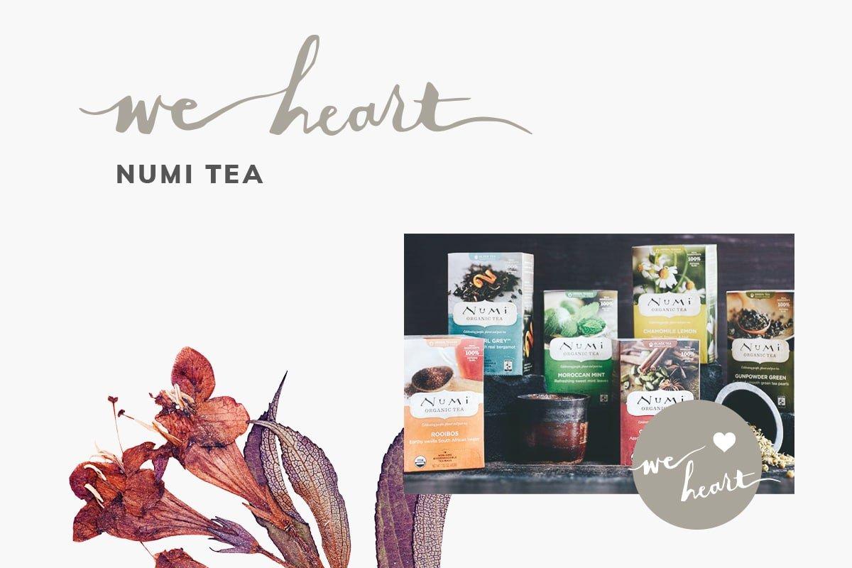 We Heart: Numi Tea