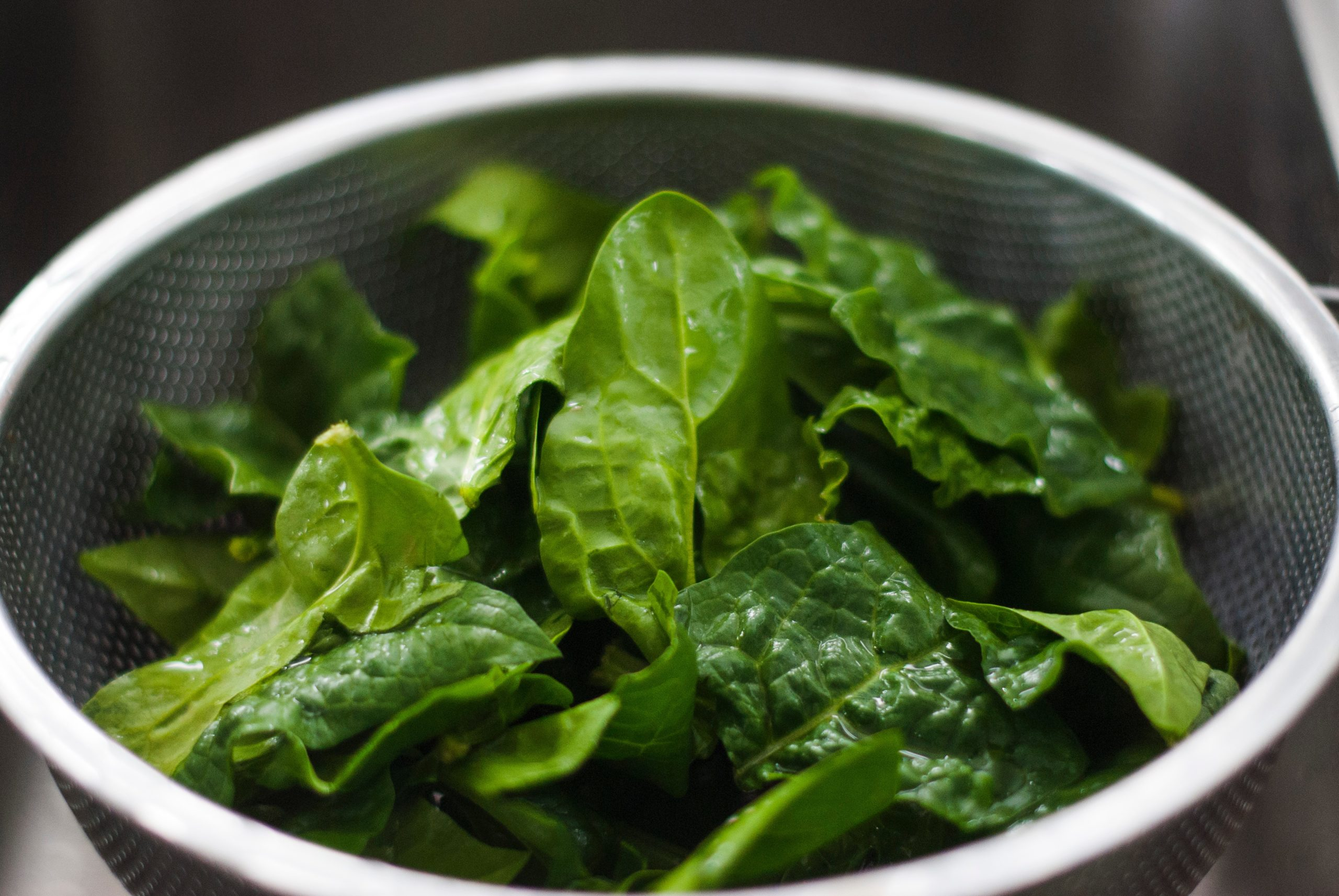 get rid of bloating spinach