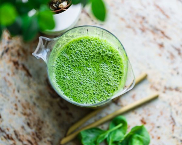 cauliflower in green smoothies