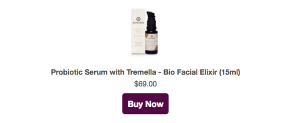 Probiotic Serum with Tremella