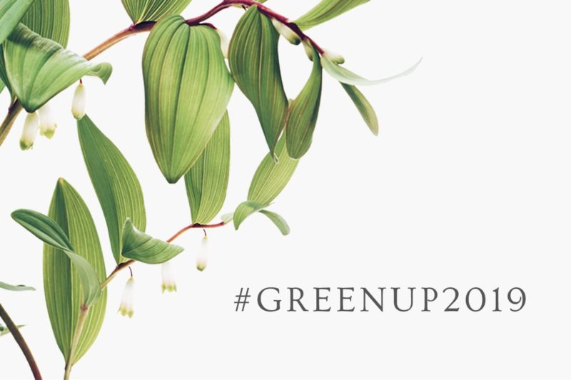 Start Your Year Right. Join Us For Our #GreenUp2019 Challenge. 1