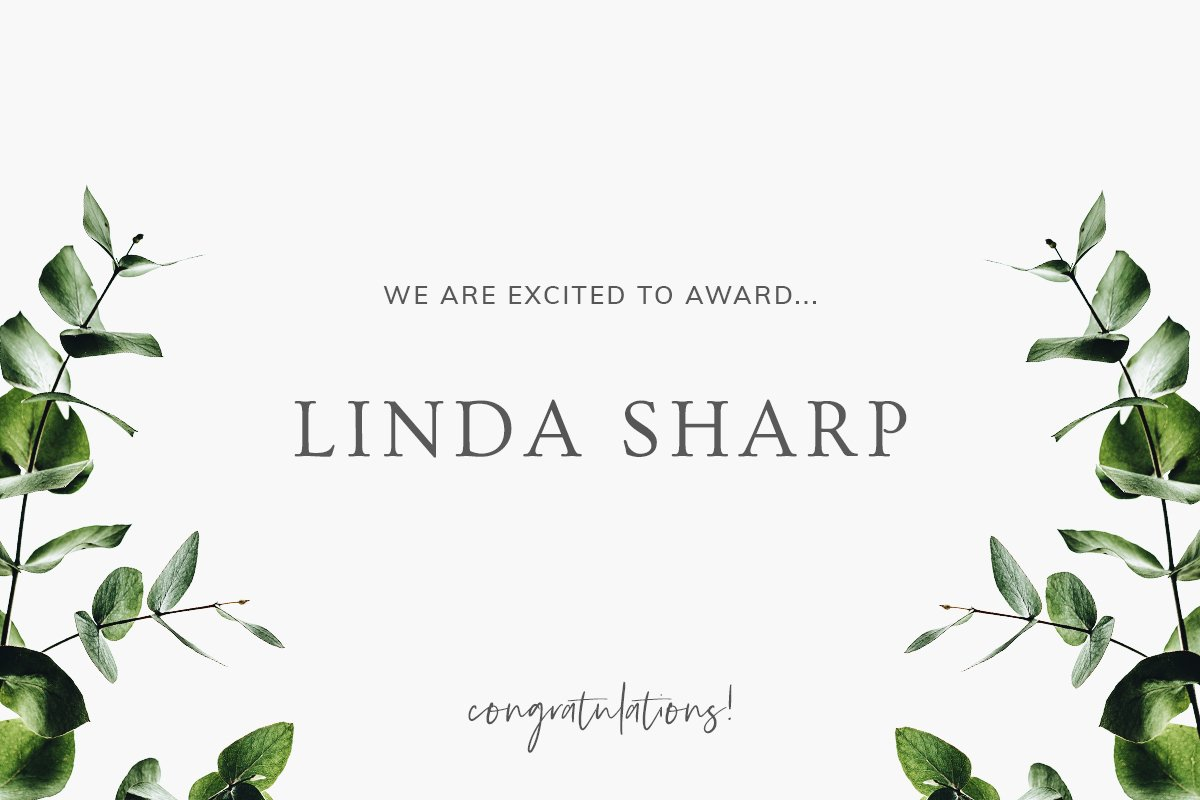 Announcing our 2018 Wild. Beautiful. Award Winner: Linda Sharp