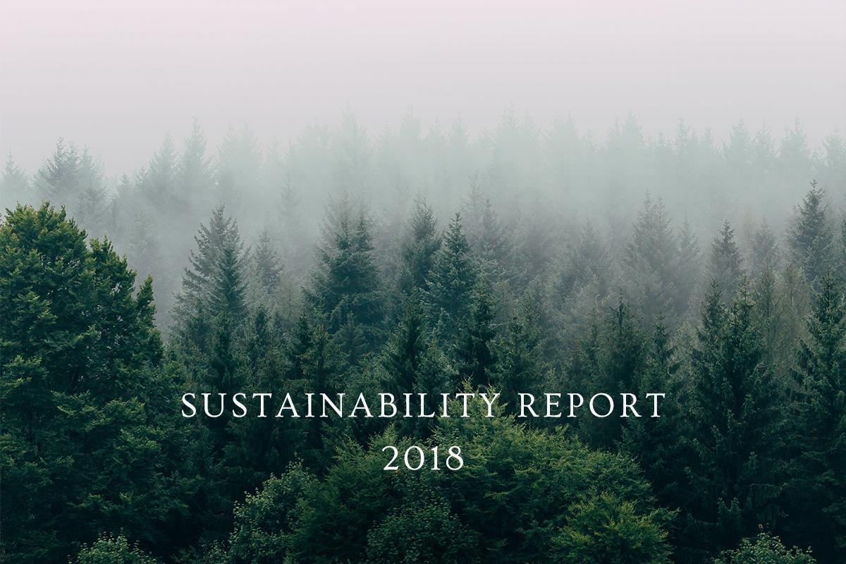Sustainability Report: 2018