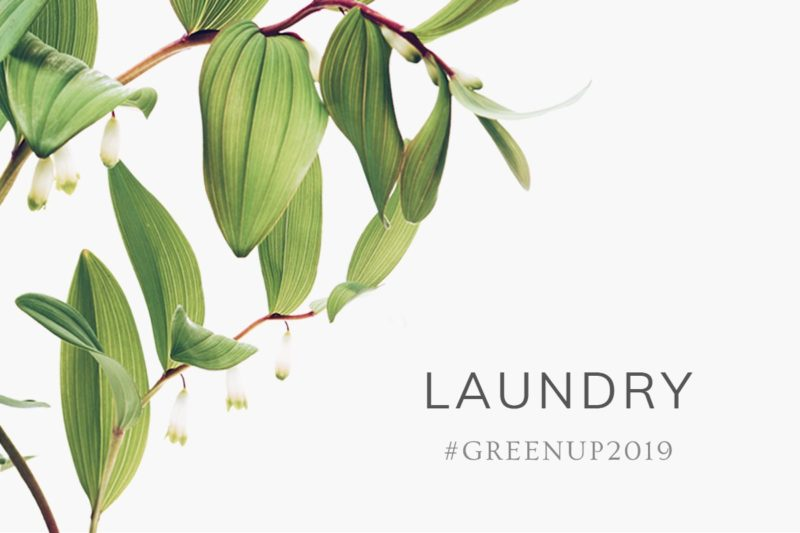 #GreenUp2019: Laundry
