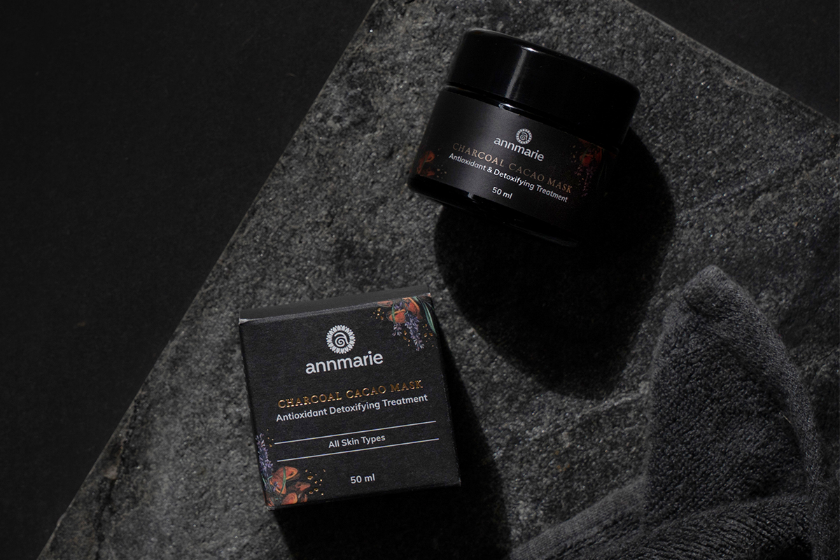 Meet the Charcoal Cacao Mask 1