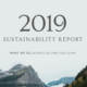 Annmarie Skin Care Sustainability Report: 2019