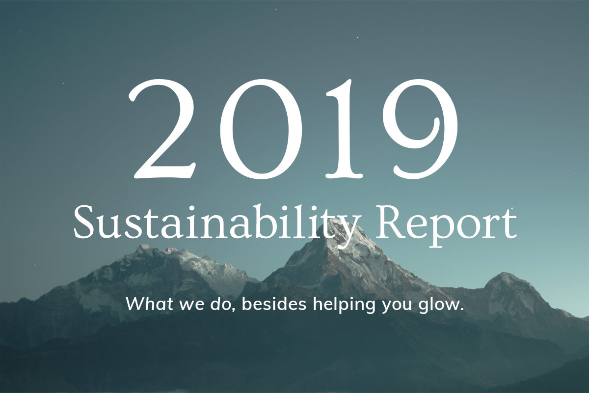 Annmarie Skin Care Sustainability Report: 2019 1