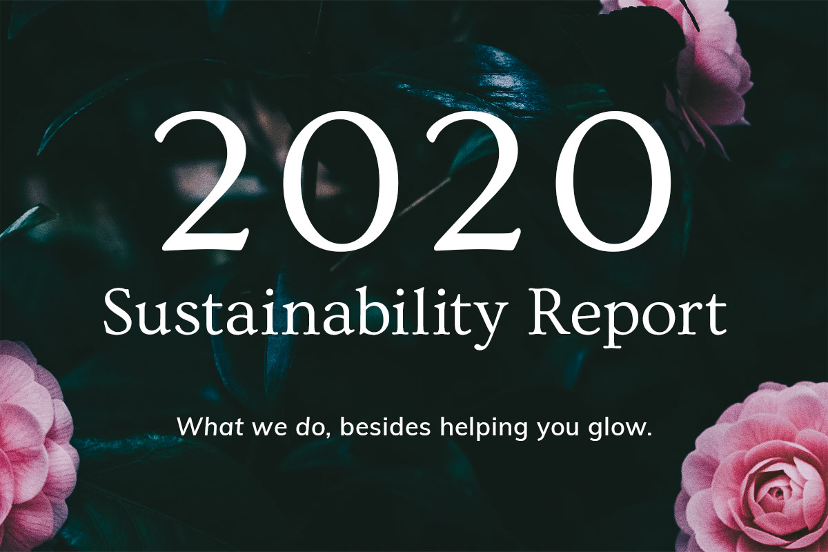 Annmarie Skin Care Sustainability Report 2020